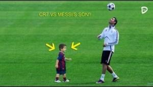 Video: Football Stars vs Kids ? Footballers destroying little kids - Funny Moments